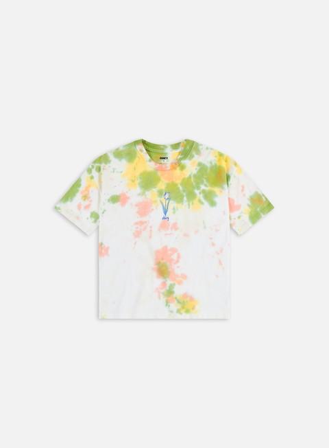 Obey WMNS Obey Tulip Tie Dye Custom Crop T-shirt