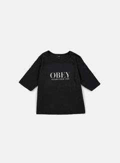Obey - WMNS Obey Vanity Owen II T-shirt, Black 1