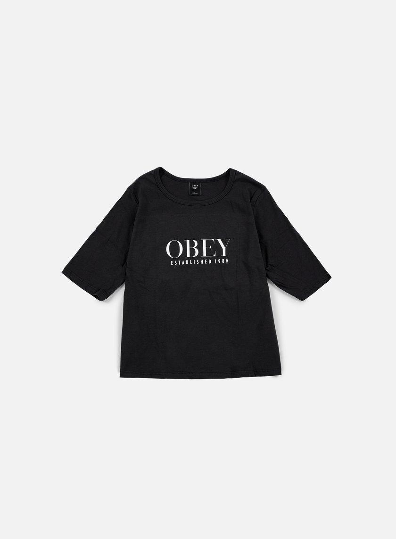 Obey - WMNS Obey Vanity Owen II T-shirt, Black