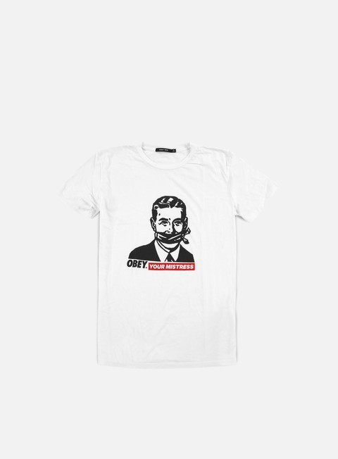Outlet e Saldi T-shirt a Manica Corta Obey WMNS Obey Your Mistress T-shirt