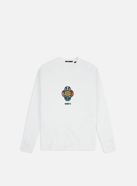 Long sleeve T-shirts Obey WMNS Otis LS T-shirt