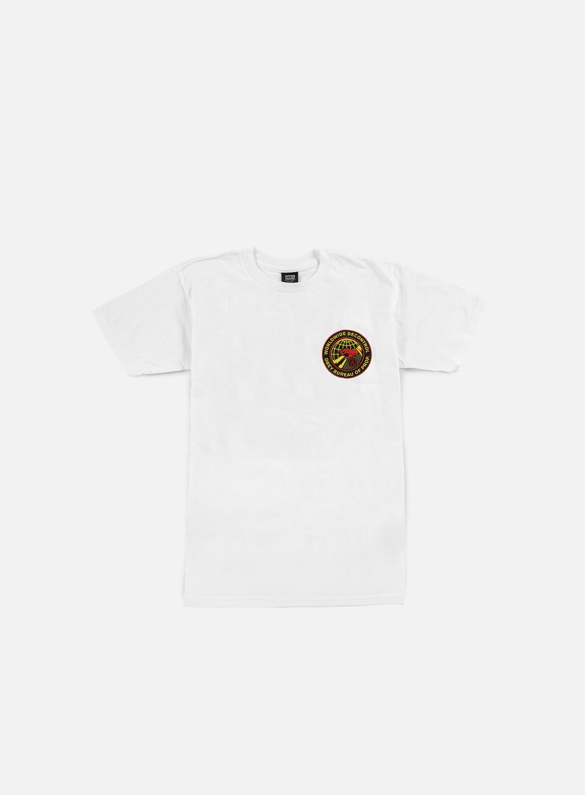 Obey - Worldwide Decontrol T-shirt, White