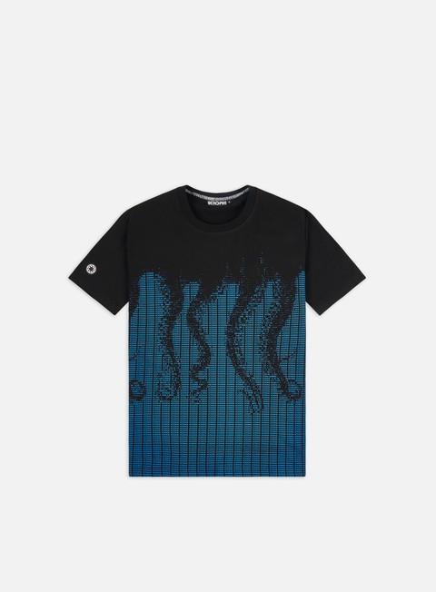 Outlet e Saldi T-shirt a Manica Corta Octopus Octopus Ascii T-shirt