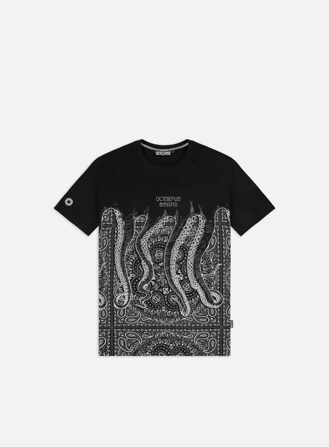 Short Sleeve T-shirts Octopus Octopus Bandana T-shirt