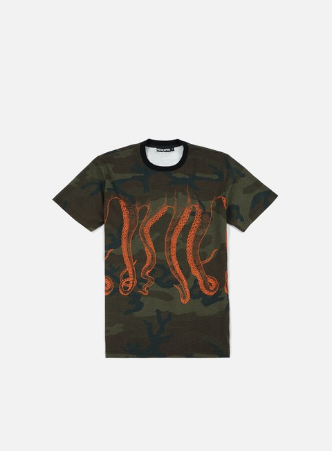 t shirt octopus octopus camo orange out