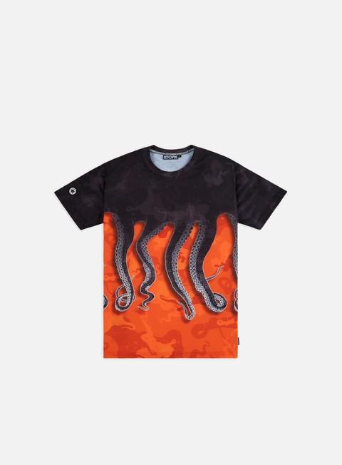 T-shirt a Manica Corta Octopus Octopus Camo T-shirt