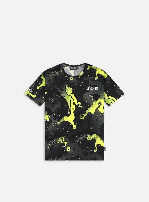 Short Sleeve T-shirts Octopus Octopus Camo T-shirt