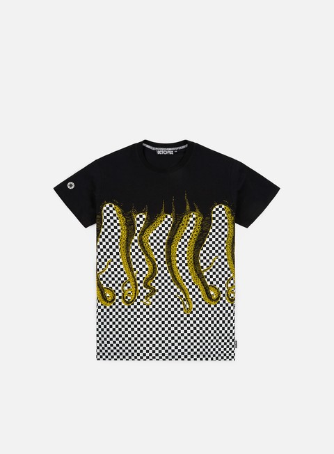 Octopus Octopus Checkerd T-shirt