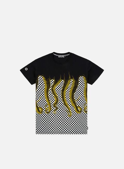 T-shirt a manica corta Octopus Octopus Checkerd T-shirt
