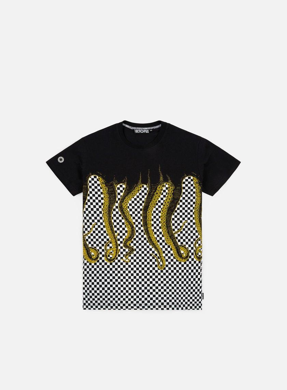 Octopus Octopus Checkerd T-shirt