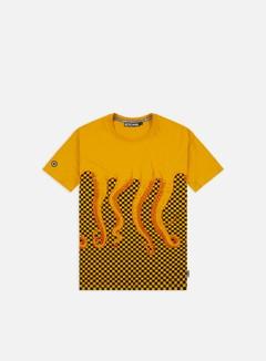 Octopus Octopus Checkered T-shirt