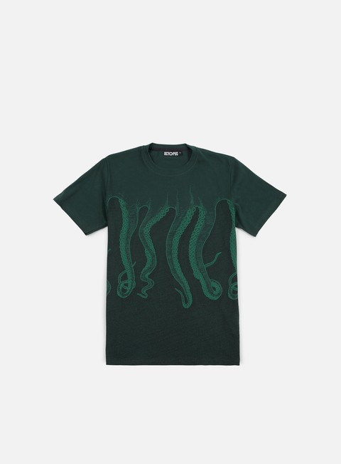 t shirt octopus octopus cnc green green black