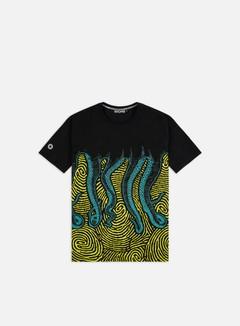 Octopus - Octopus Fingerz T-shirt, Black/Green