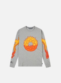 WMNS Octopus Flames Cropped Crewneck