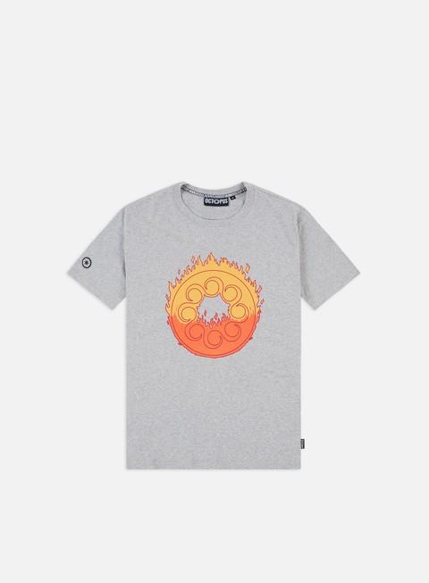 Octopus Octopus Flames Logo T-shirt