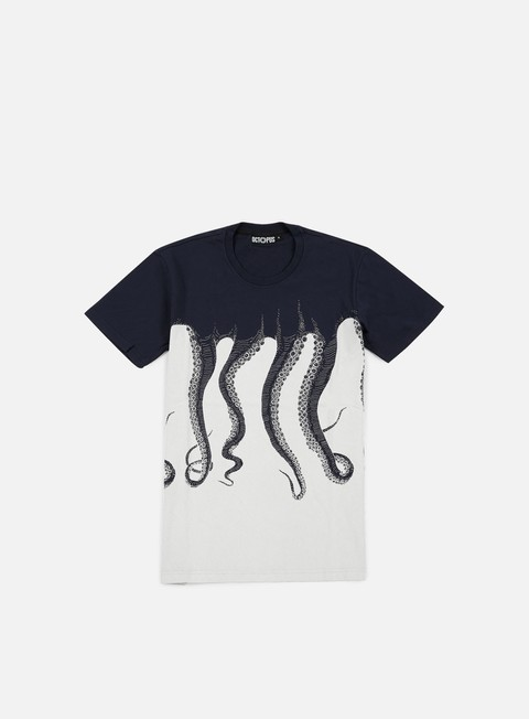 t shirt octopus octopus navy