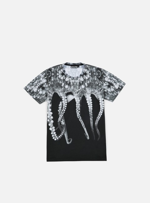 t shirt octopus octopus poly black