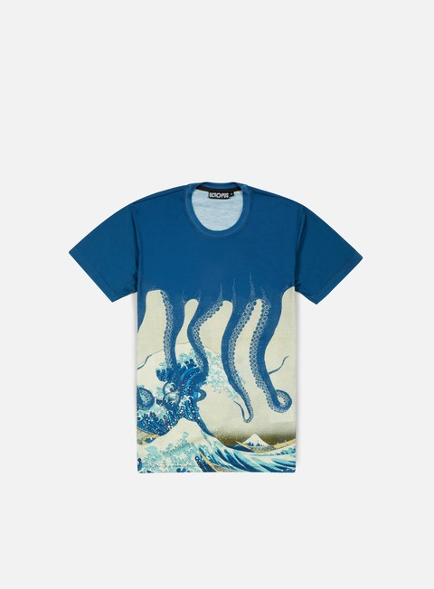 Short Sleeve T-shirts Octopus Octopus Poly T-shirt