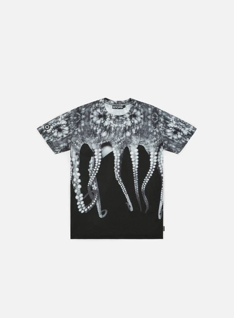 t shirt octopus octopus poly t shirt real grey