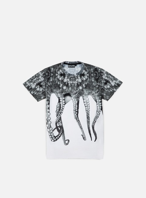 t shirt octopus octopus poly white
