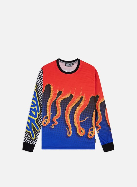 Outlet e Saldi T-shirt a Manica Lunga Octopus Octopus Racing Factory LS T-shirt