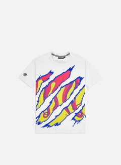 Octopus - Octopus Ripper T-shirt, White/Red/Yellow