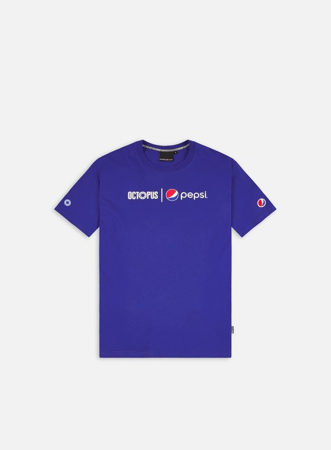 Short Sleeve T-shirts Octopus Pepsi Logo T-Shirt