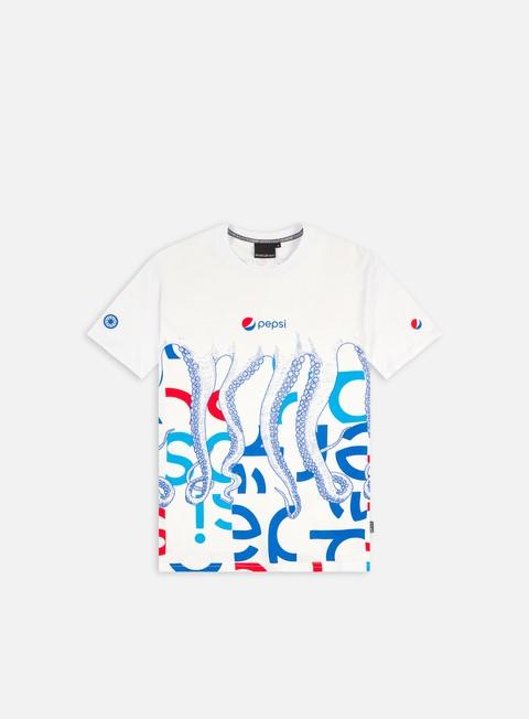 Short Sleeve T-shirts Octopus Pepsi Octopus Camo T-Shirt