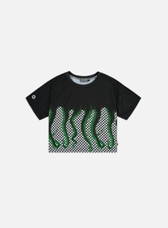 Octopus WMNS Octopus Checkered Cropped T-shirt