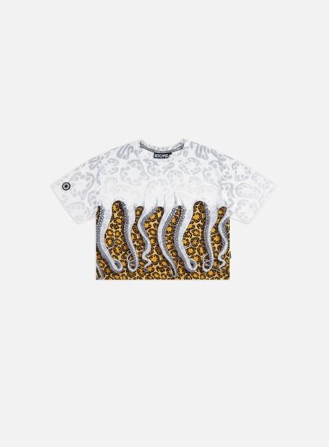Outlet e Saldi T-shirt a Manica Corta Octopus WMNS Octopus Cropped T-shirt