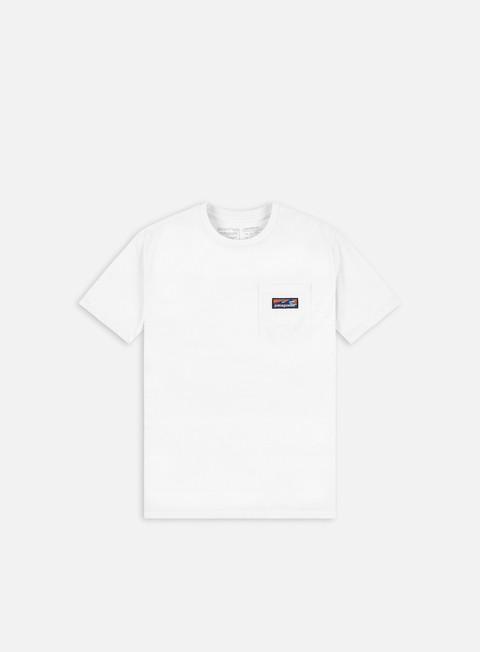 Short Sleeve T-shirts Patagonia Boardshort Label Pocket Responsibili-Tee T-shirt