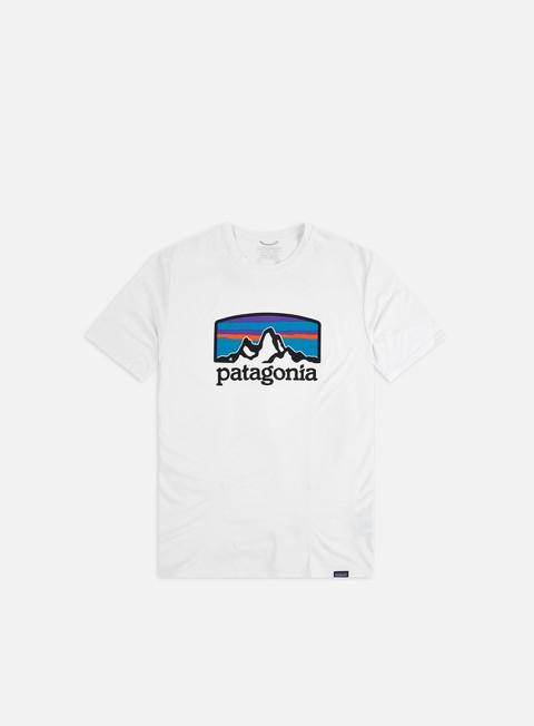 Logo T-shirts Patagonia Capilene Cool Daily Graphic T-shirt
