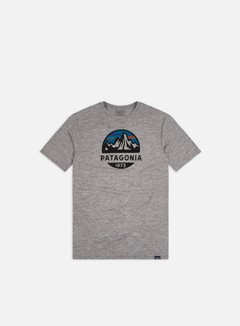 Patagonia - Capilene Cool Daily Graphic T-shirt, Fitz Roy Scope/Feather Grey