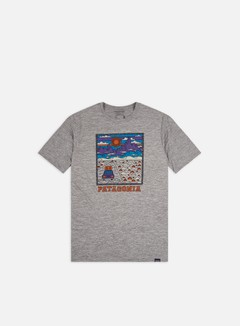 Patagonia - Capilene Cool Daily Graphic T-shirt, Summit Road/Feather Grey