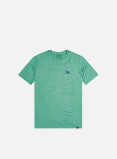 Patagonia - Capilene Cool Daily Graphic T-shirt, Vision Mission/Beryl Green X-Dye