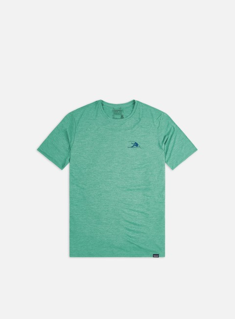 Outlet e Saldi T-shirt a Manica Corta Patagonia Capilene Cool Daily Graphic T-shirt