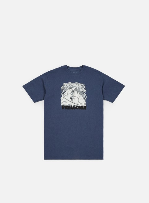Sale Outlet Short Sleeve T-shirts Patagonia Cornice Canvas Responsibili-Tee T-Shirt