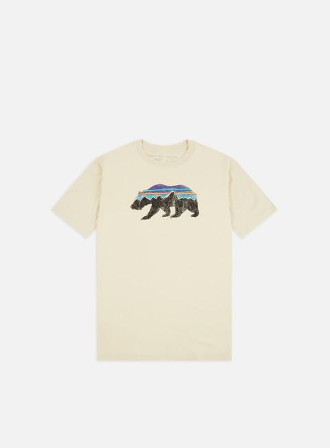 Short Sleeve T-shirts Patagonia Fitz Roy Bear Organic T-shirt