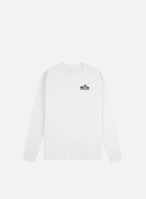 T-shirt a Manica Lunga Patagonia Fitz Roy Scope Responsibili-Tee LS T-shirt