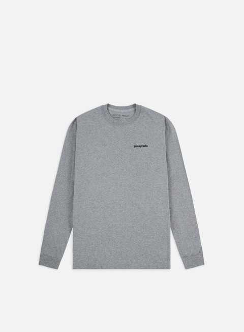 T-shirt a manica lunga Patagonia Fitz Roy Trout Responsibili-Tee LS T-shirt