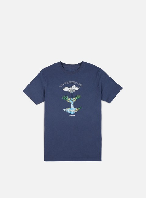 Sale Outlet Short Sleeve T-shirts Patagonia Glacier Born Responsabili T-shirt