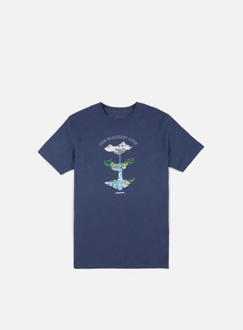 Outlet e Saldi T-shirt a Manica Corta Patagonia Glacier Born Responsibili-Tee T-shirt