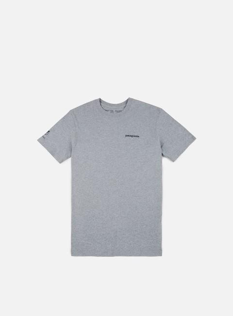 Outlet e Saldi T-shirt a Manica Corta Patagonia Golden Dorado World Trout Responsibili-Tee T-shirt