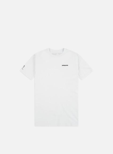Outlet e Saldi T-shirt a Manica Corta Patagonia Greenback Cutthroat World Trout Responsibili-Tee T-shirt