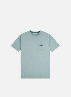 Patagonia - Line Logo Ridge Pocket Responsibili-Tee T-shirt, Big Sky Blue