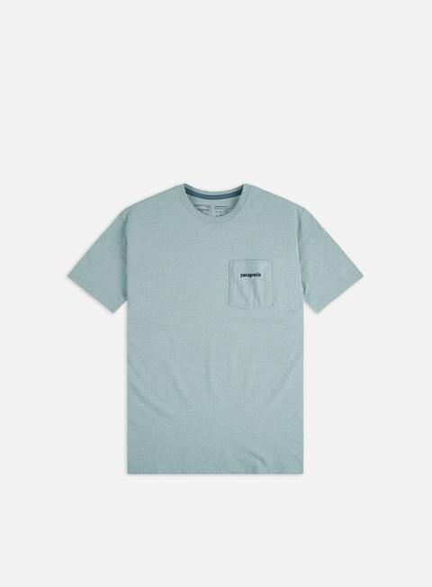 Outlet e Saldi T-shirt a Manica Corta Patagonia Line Logo Ridge Pocket Responsibili-Tee T-shirt