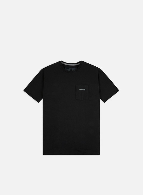 T-shirt a Manica Corta Patagonia Line Logo Ridge Pocket Responsibili-Tee T-shirt