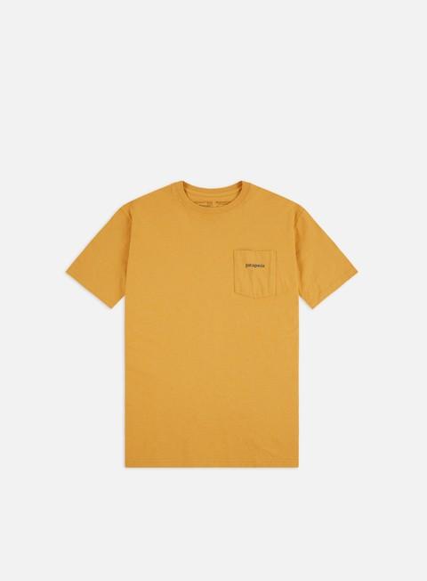 Short Sleeve T-shirts Patagonia Line Logo Ridge Pocket Responsibili-Tee T-shirt