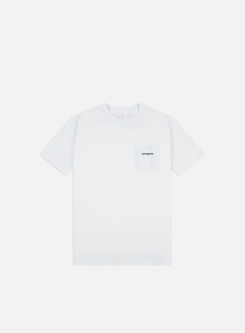 T-shirt Pocket Patagonia Line Logo Ridge Pocket Responsibili-Tee T-shirt
