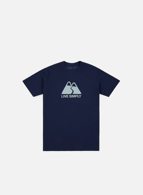 Sale Outlet Short Sleeve T-shirts Patagonia Live Simple Winding T-shirt